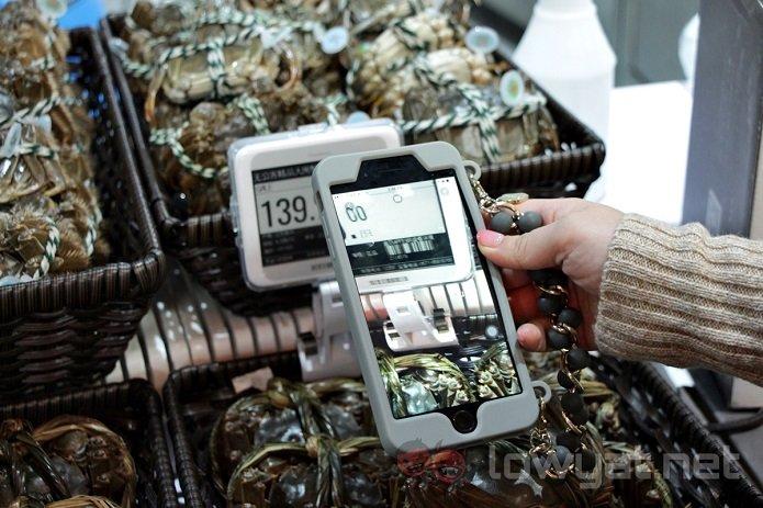 Как выглядят инновационные супермаркеты Alibaba