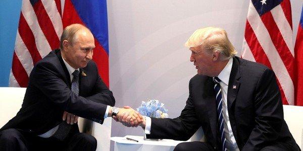 Детали вероятной встречи В. Путина иТрампа прорабатываются, объявил Песков