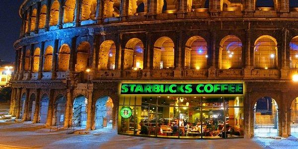 ВИталии открылся самый красивый вмире Starbucks