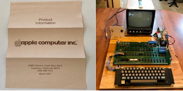 Уникальный компьютер Apple-1 продадут нааукционе